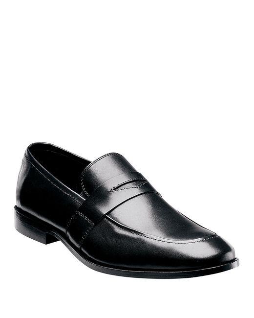 Florsheim | Black Berkley B Moc Toe Leather Loafer for Men | Lyst