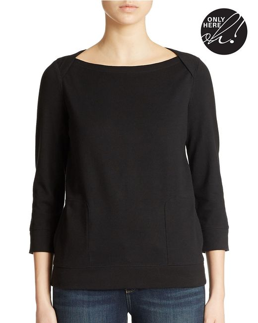 Lord & Taylor | Black Lounge Top | Lyst