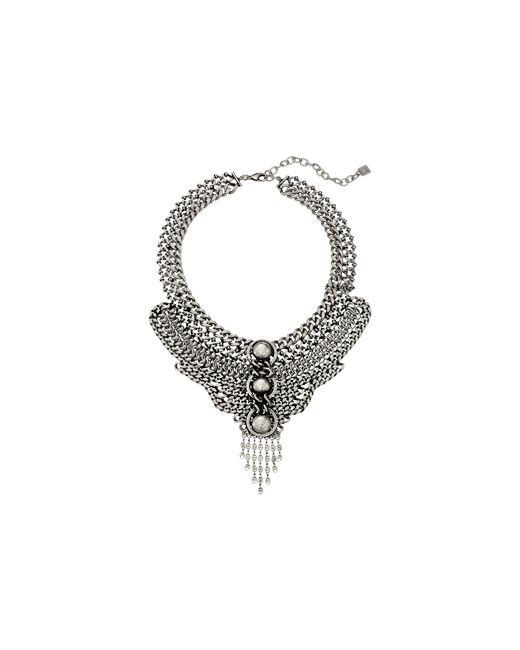 DANNIJO   Metallic Paloma Necklace   Lyst