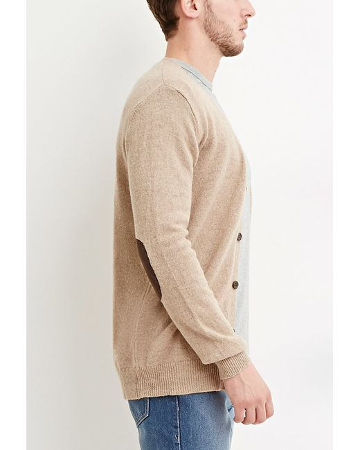 Forever 21 | Brown Classic Wool-blend Cardigan for Men | Lyst