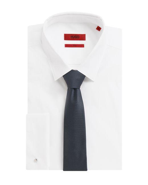HUGO | Gray Silk Tie: 'tie 6 Cm' for Men | Lyst