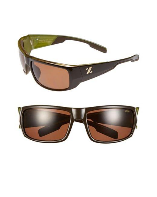 Zeal Optics | Green 'snapshot' 65mm Polarized Sunglasses | Lyst