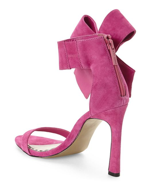 Betsey Johnson Pink Friskyy Sandals In Pink Fuchsia