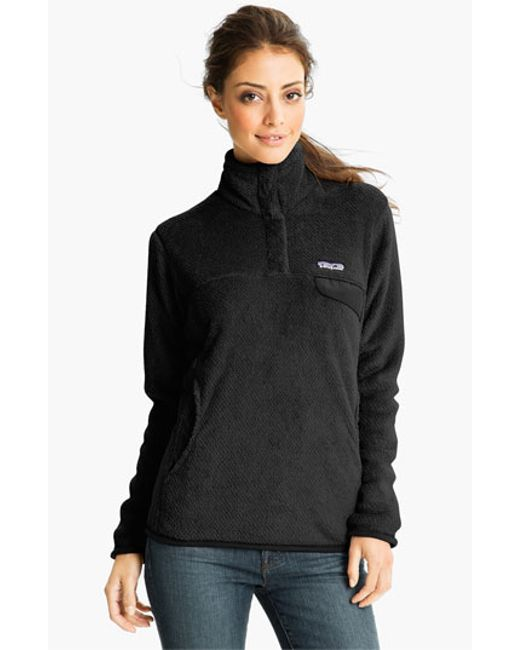 Patagonia | Black 're-tool' Snap Pullover | Lyst
