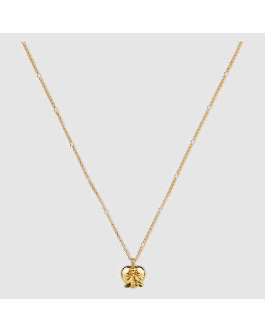 Gucci | Metallic Le Marchã© Des Merveilles Necklace | Lyst