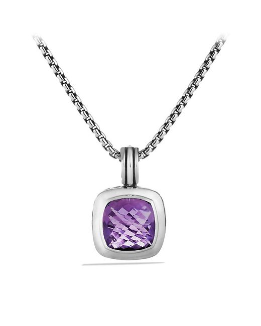 David Yurman | Metallic Albion Pendant, 17mm Gemstone | Lyst