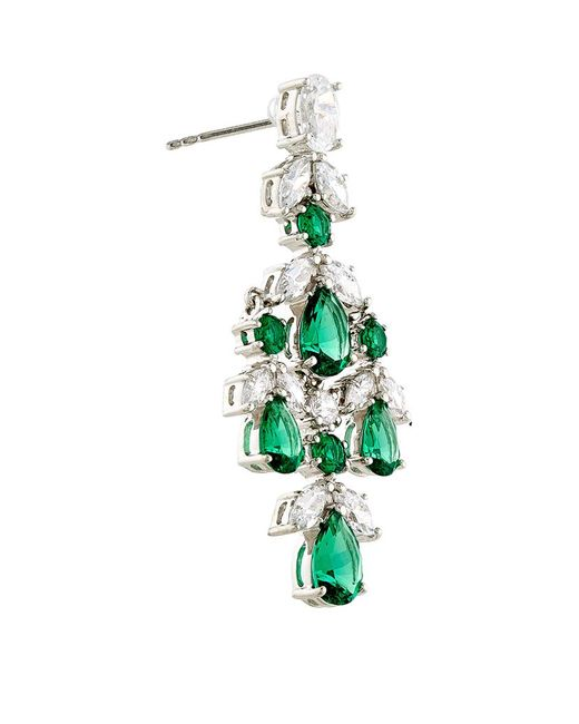 Carat*   Green Aster Drop Earrings   Lyst
