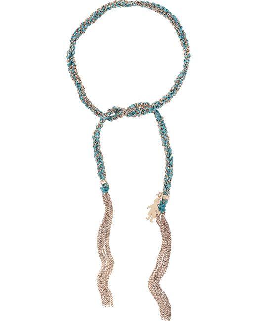 Carolina Bucci | Blue Lucky Baby Boy Bracelet | Lyst