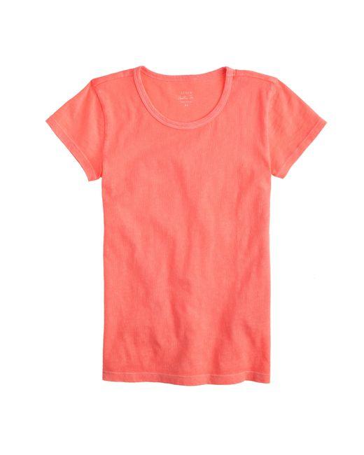J.Crew | Orange Short-sleeve Painter T-shirt | Lyst