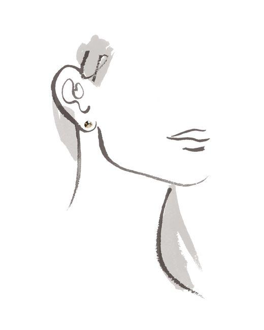 Melissa Joy Manning | Metallic Pyrite Stud Earrings | Lyst