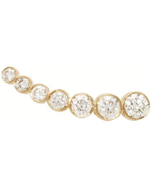 Sophie Bille Brahe | Metallic Gold Petit Croissant De Lune Single Earring | Lyst