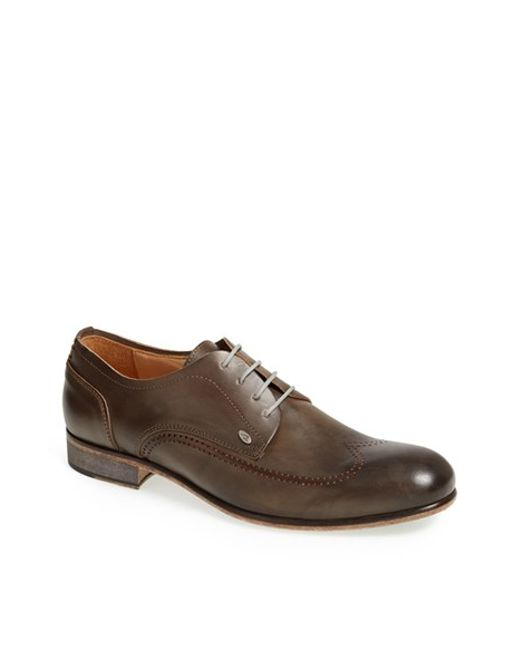 Bacco Bucci | Brown 'campana' Wingtip for Men | Lyst