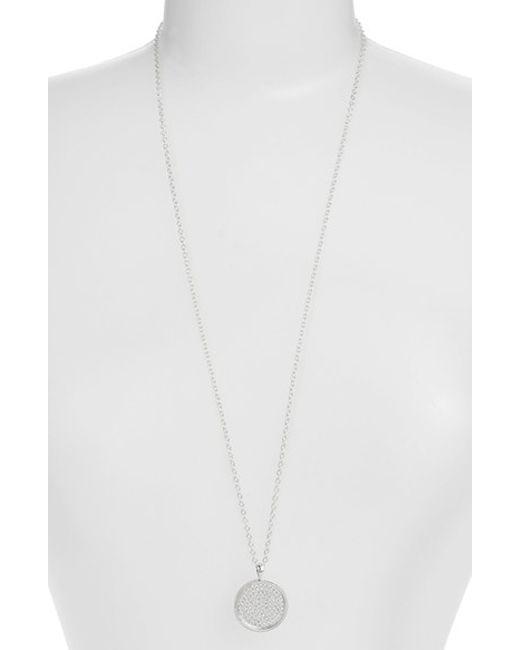 Anna Beck | Metallic 'gili' Pendant Necklace | Lyst