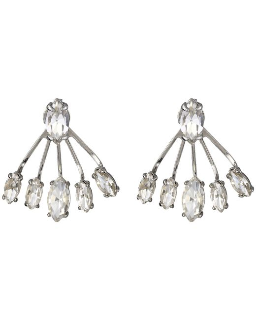 Rebecca Minkoff | Metallic Pheonix Front Back Earrings | Lyst