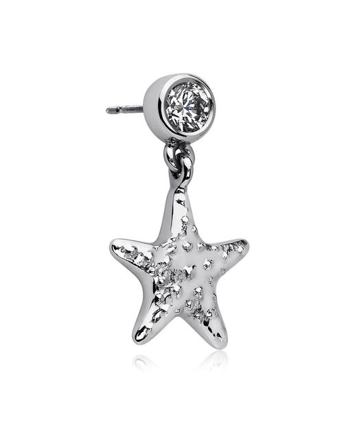 Theo Fennell | White Starfish Drop Earrings | Lyst
