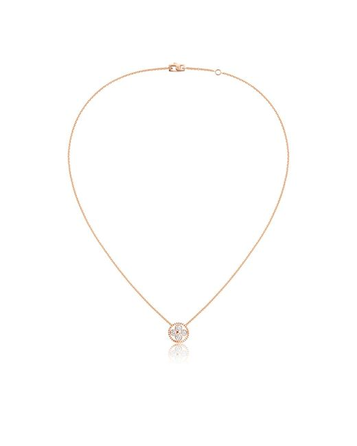 Louis Vuitton | Diamond Blossom Bb Pendant, Pink Gold And Diamonds | Lyst