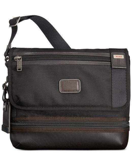 Tumi | Gray Alpha Bravo Beale Flap Crossbody Bag for Men | Lyst