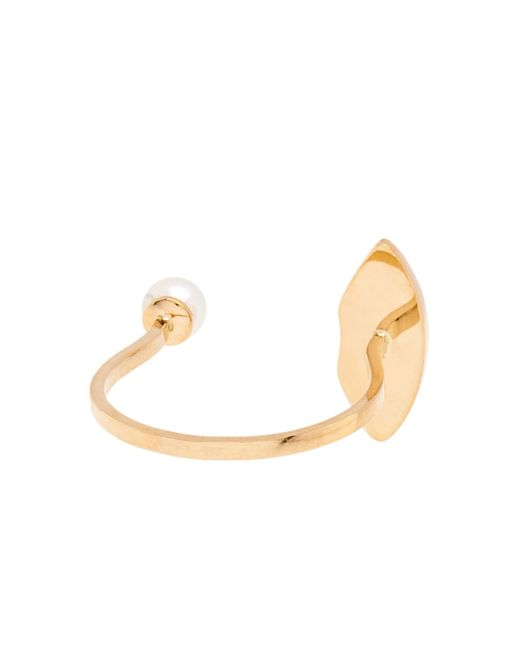 Delfina Delettrez | Ruby, Pearl & Yellow-Gold Ring | Lyst