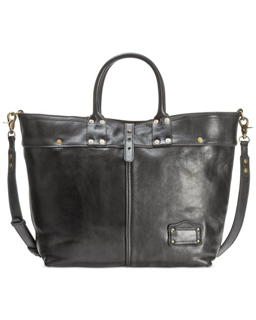 Patricia Nash | Black Nash Men's Milano Leather Tote | Lyst