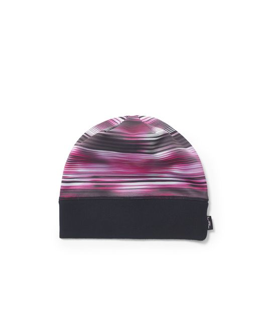 Pink Pony | Pink Striped Fleece-lined Hat | Lyst