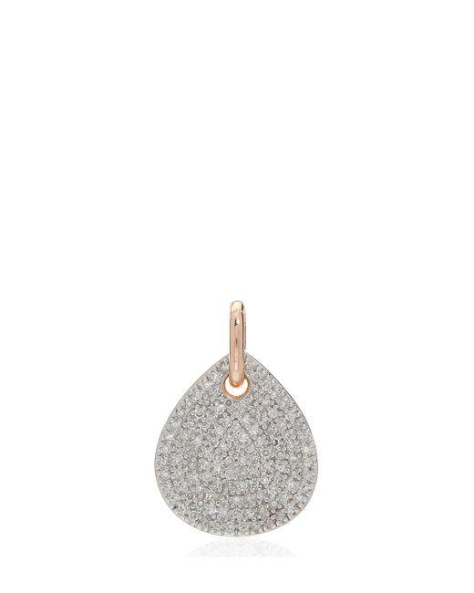 Monica Vinader | Metallic Alma Pendant Diamond | Lyst