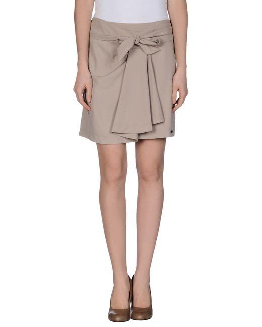 GAUDI | Natural Mini Skirt | Lyst