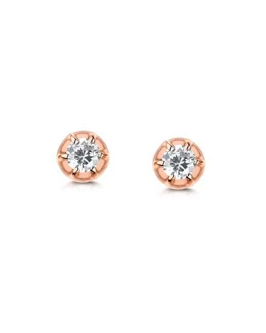 Carbon & Hyde | Pink Rose Stud | Lyst