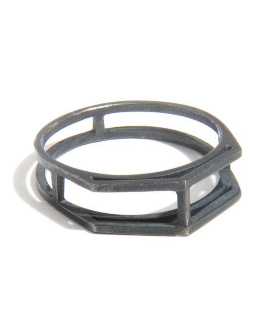 Melissa Joy Manning | Gray Open Wire Ring | Lyst