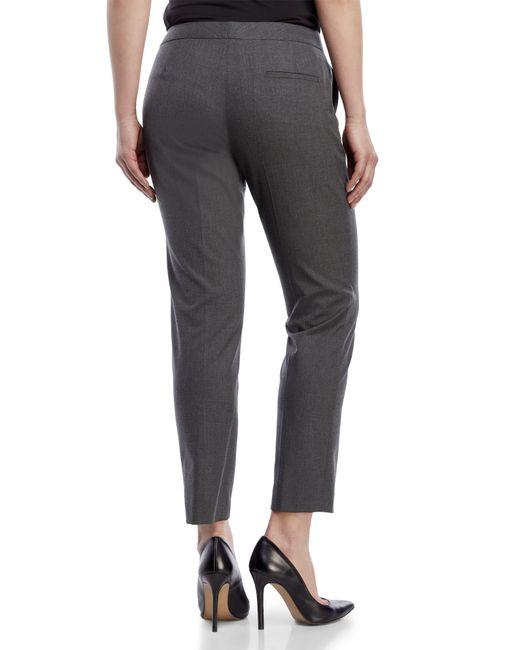 Vince Camuto Petite Skinny Ankle Pants In Gray Medium