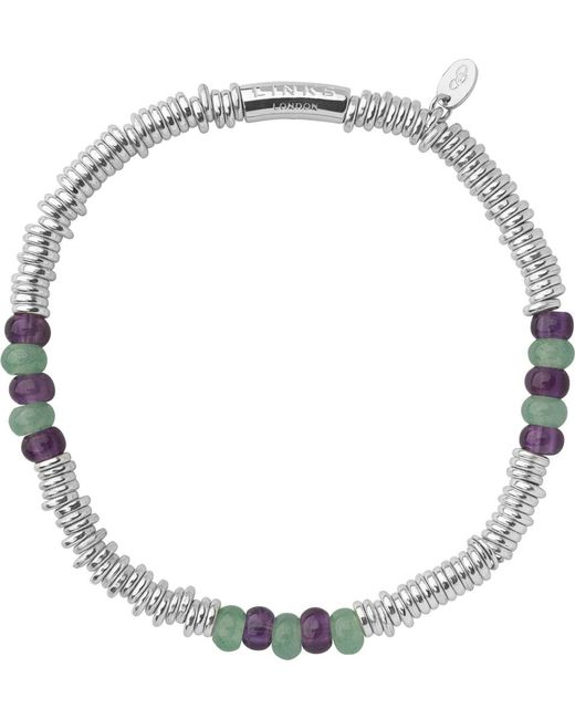 Links of London | Metallic Wimbledon Extra-small Sweetie Bracelet | Lyst