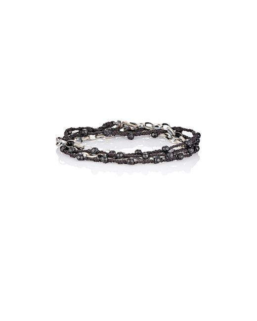 Feathered Soul | Black Cedar Wrap Bracelet | Lyst