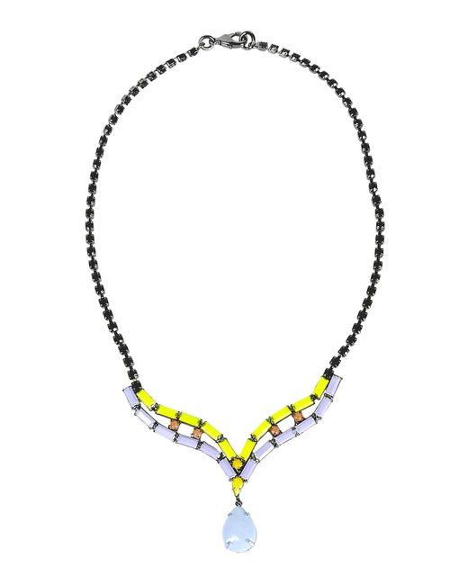Tom Binns | Purple Necklace | Lyst