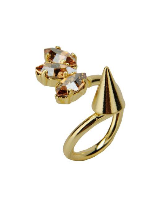 Crezus | Metallic Ring | Lyst