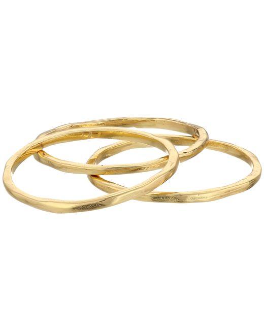 Gorjana | Metallic G Ring Midi Set | Lyst