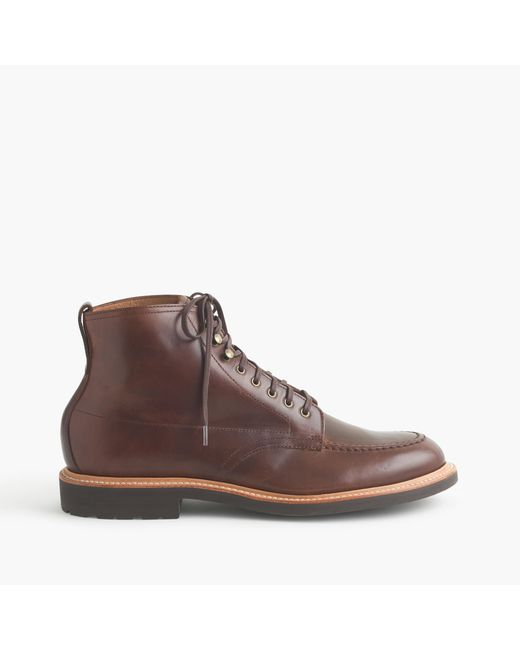 J.Crew | Brown Kenton Leather Pacer Boots for Men | Lyst