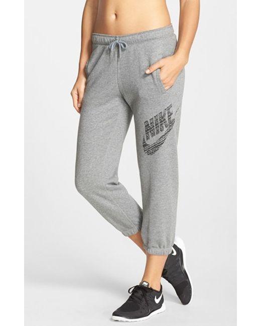 Creative Nike Pants Gym Vintage Capri Sweatpants