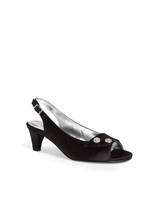 David Tate | Black 'party' Pump | Lyst