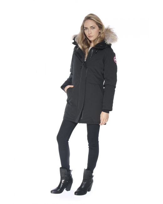 Canada Goose coats sale cheap - Canada goose Victoria Parka in Black | Lyst