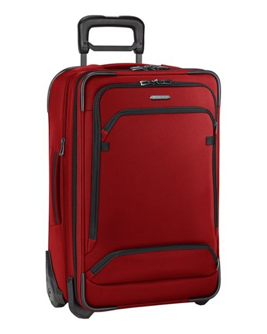 Briggs & Riley | Red 'transcend' Wheeled Carry-on for Men | Lyst