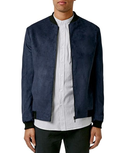 Buy Charcoal Navy Blue Biker Jacket For Men Made of Suede Leather. Free Shipping in USA, UK, Canada, Australia & Worldwide With Custom Made to Measure Option. Rocking the MTV XXX Challenge with bomber jackets by The Jacket Maker. SHOP THIS LOOK. The Product was custom made on demand. Customize Your Own. Michael Adams. SHOP THIS LOOK.
