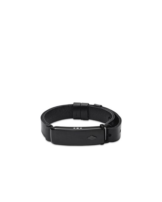 fossil q reveler fitness tracker bracelet in black for men. Black Bedroom Furniture Sets. Home Design Ideas