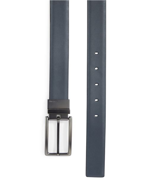 Calvin Klein | Gray Reversible Leather Belt for Men | Lyst