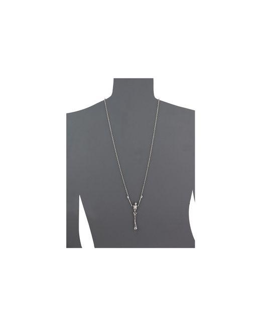 Vivienne Westwood   Metallic Skeleton Long Necklace   Lyst