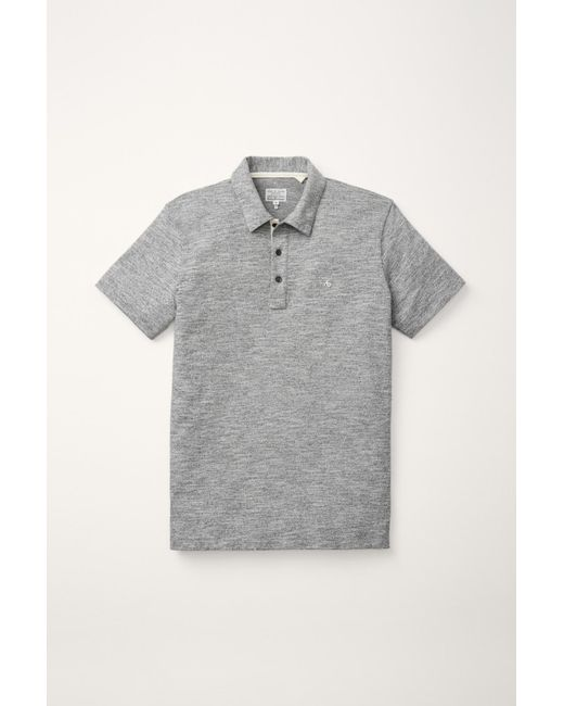 Rag & Bone | Gray Standard Issue Polo for Men | Lyst