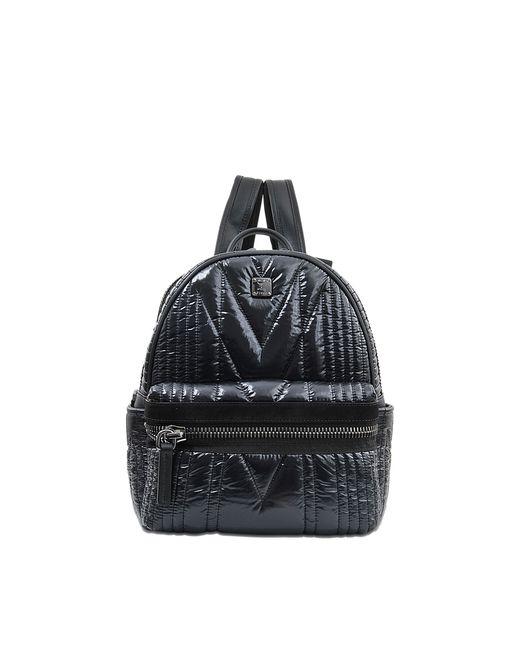MCM   Black Stark Side Stud Medium Backpack   Lyst