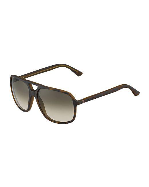 634efa15bc Nautica Mens Square Aviator Polarised Sunglasses - Blue Surf ...