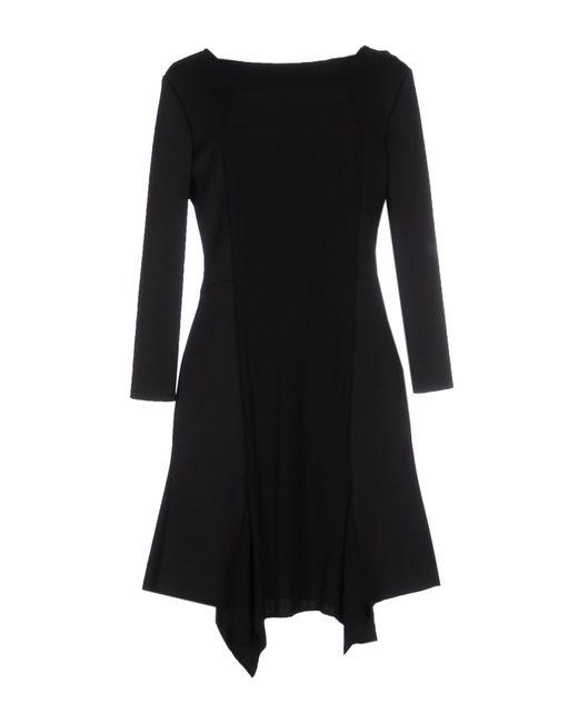 Space Style Concept   Black Short Dress   Lyst