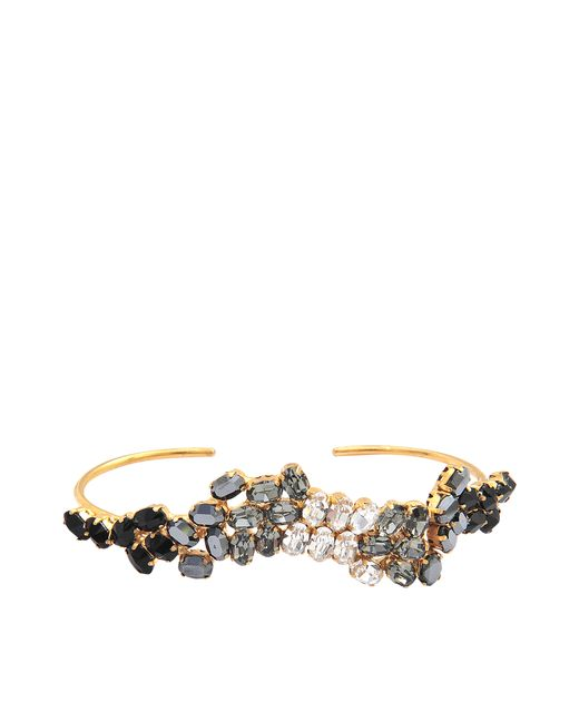 Joanna Laura Constantine | Metallic Crystals Hand Bracelet | Lyst