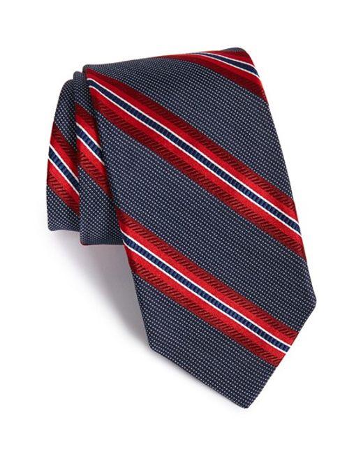 Robert Talbott | Blue Stripe Silk Tie for Men | Lyst