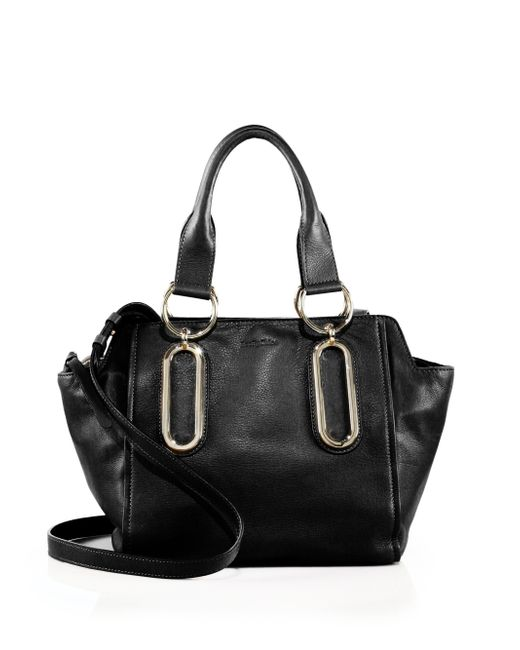 See By Chloé | Black Paige Leather Satchel | Lyst